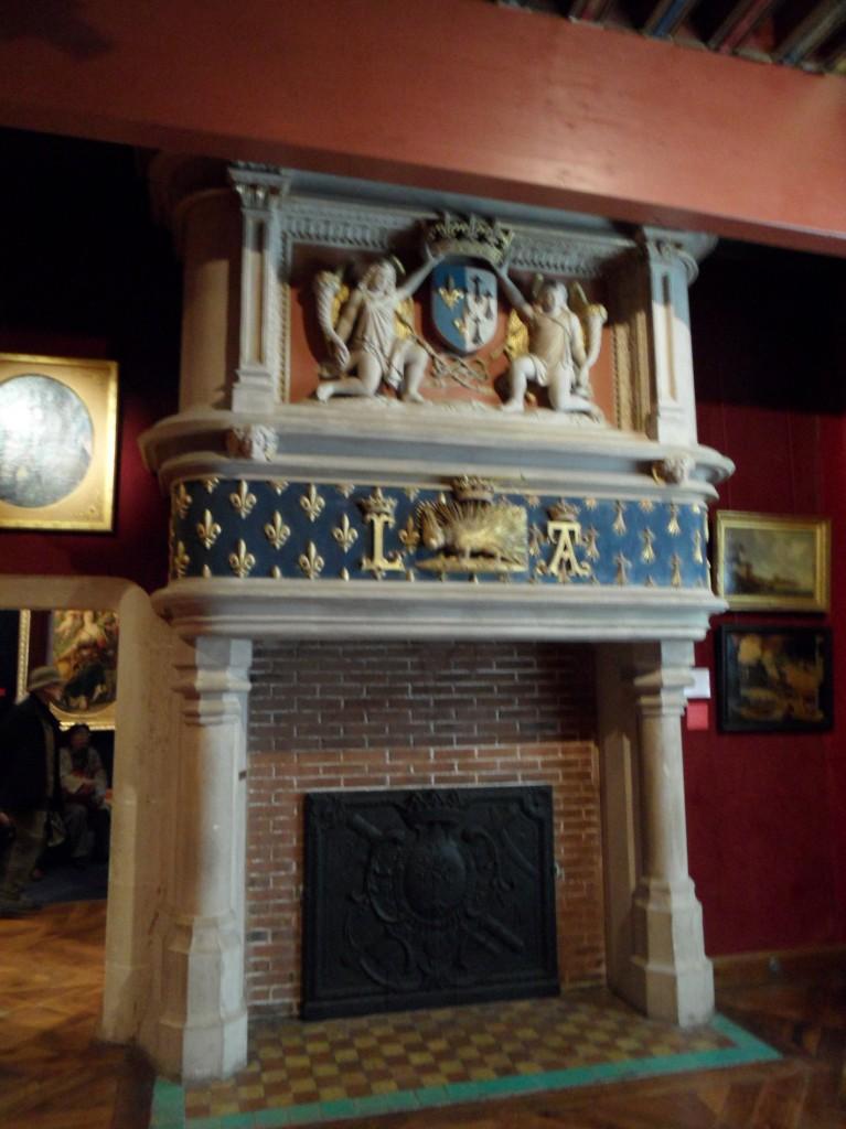 Cheminee Aile Louis Xii Chateau De Blois Les Amis Du Chateau De