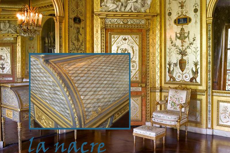 la mati re de l uvre d art la nacre les amis du ch teau de fontainebleau. Black Bedroom Furniture Sets. Home Design Ideas