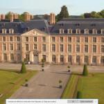 drone-au-chateau . Copyright château de Fontainebleau