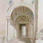 Charles Percier. Porte Dorée du château de Fontainebleau. Copyright RMN-Grand Palais